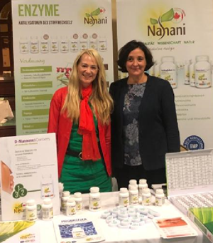 Nahani am Kongress Baden-Baden